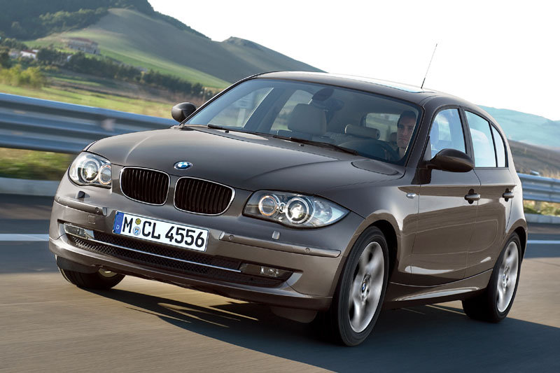 BMW 1-series 2007 matmenys