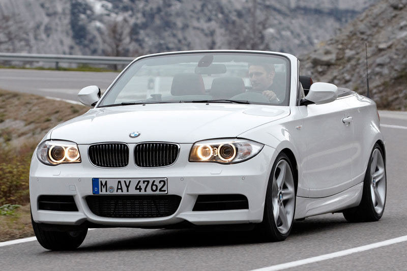 BMW 1-series Cabrio 2011 matmenys
