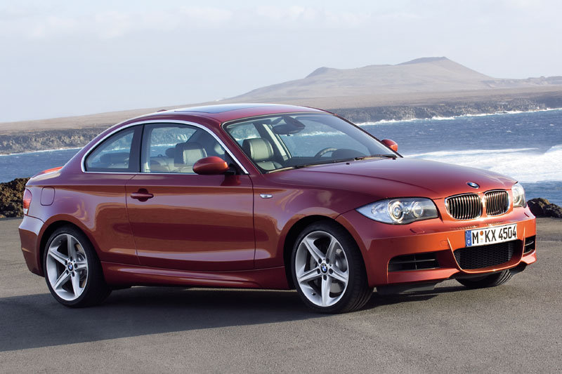 BMW 1-series Coupe 2007 matmenys