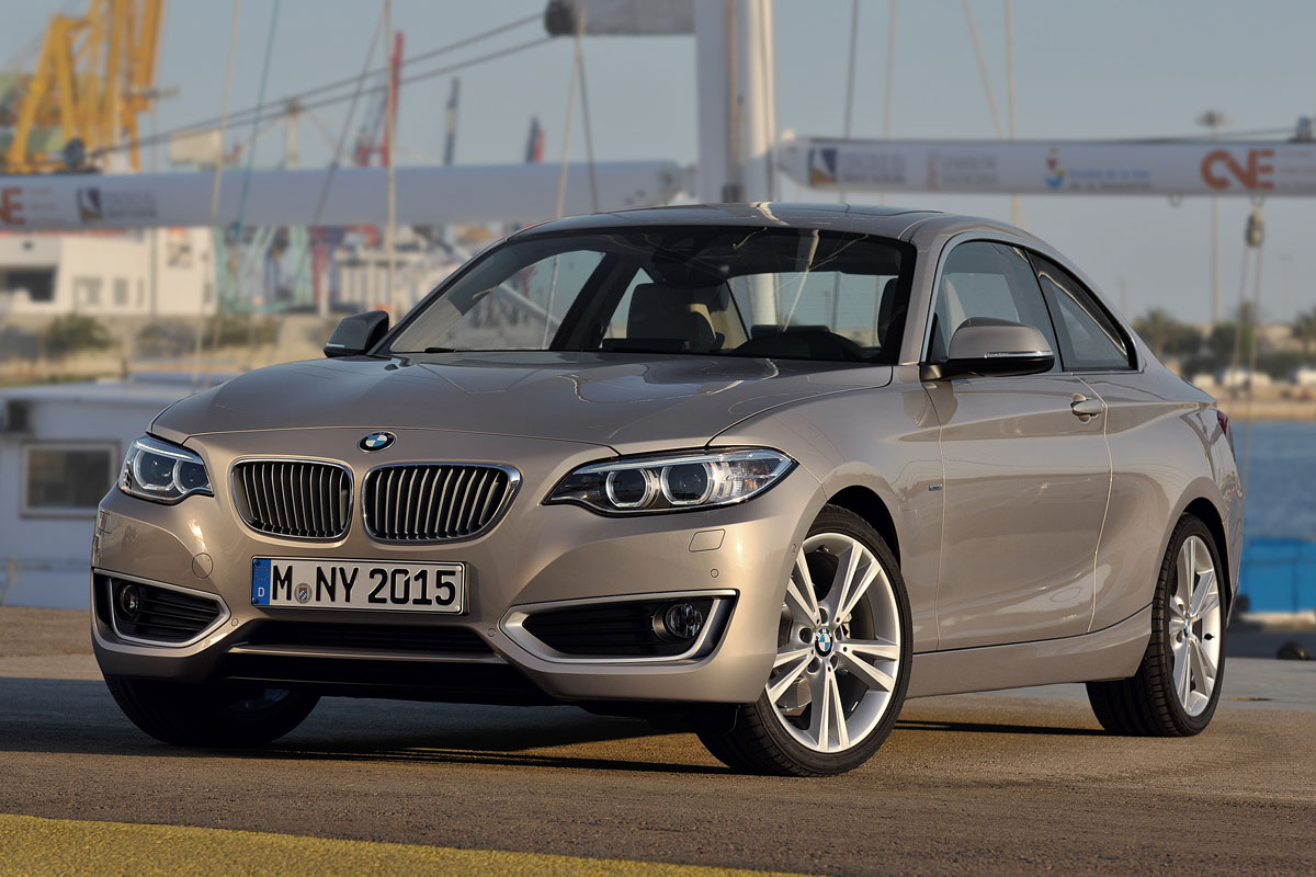 BMW 2-series Coupe 2014 matmenys