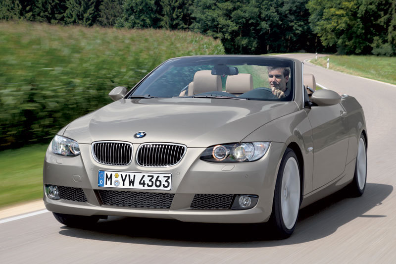 BMW 3-series Cabrio 2007 matmenys