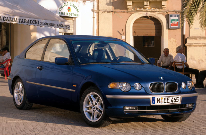 BMW 3-series Compact 2001 matmenys