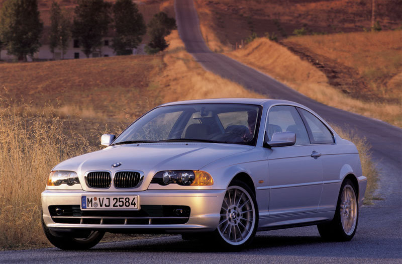BMW 3-series Coupe 1999 matmenys
