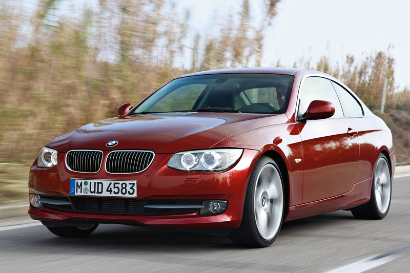 BMW 3-series Coupe 2010 matmenys