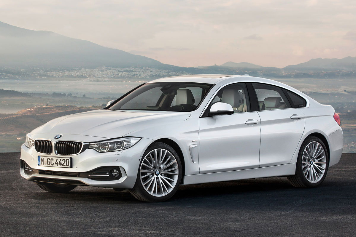 BMW 4-series Gran Coupe 2014 matmenys