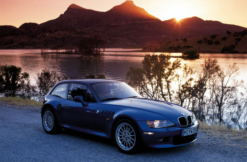 BMW Z3 coupe 1998 matmenys