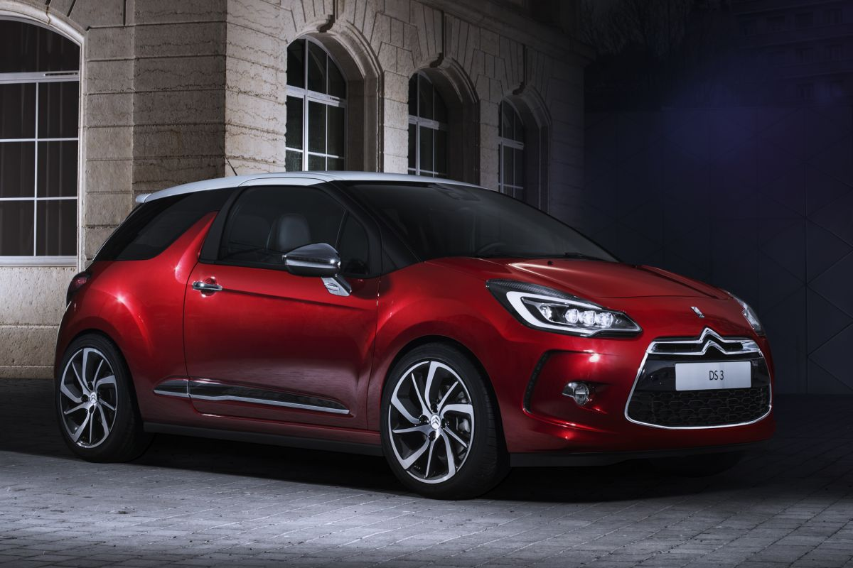 Citroen DS3 2014 matmenys
