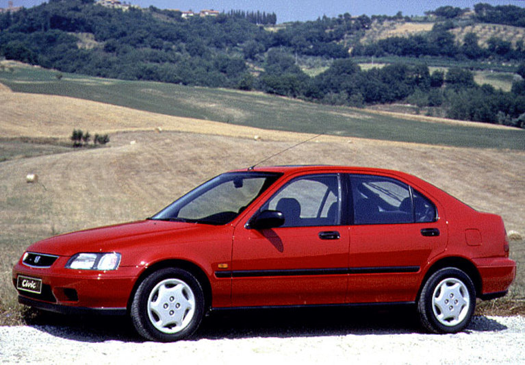 Honda Civic 1995 matmenys