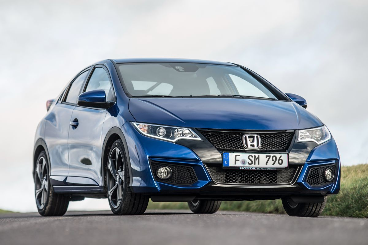 Honda Civic 2015 matmenys