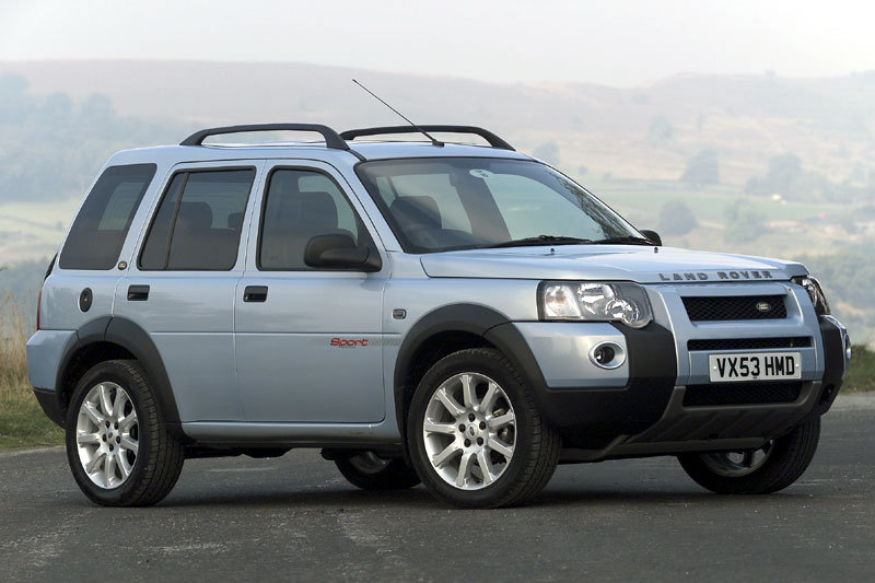 Land Rover Freelander Station Wagon 2003 matmenys