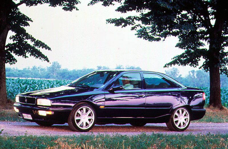 Maserati Quattroporte 1995 matmenys (V8 Evoluzione 1998 ...