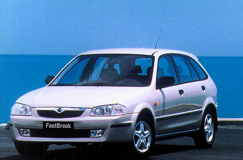 Mazda 323 FastBreak 1998 matmenys