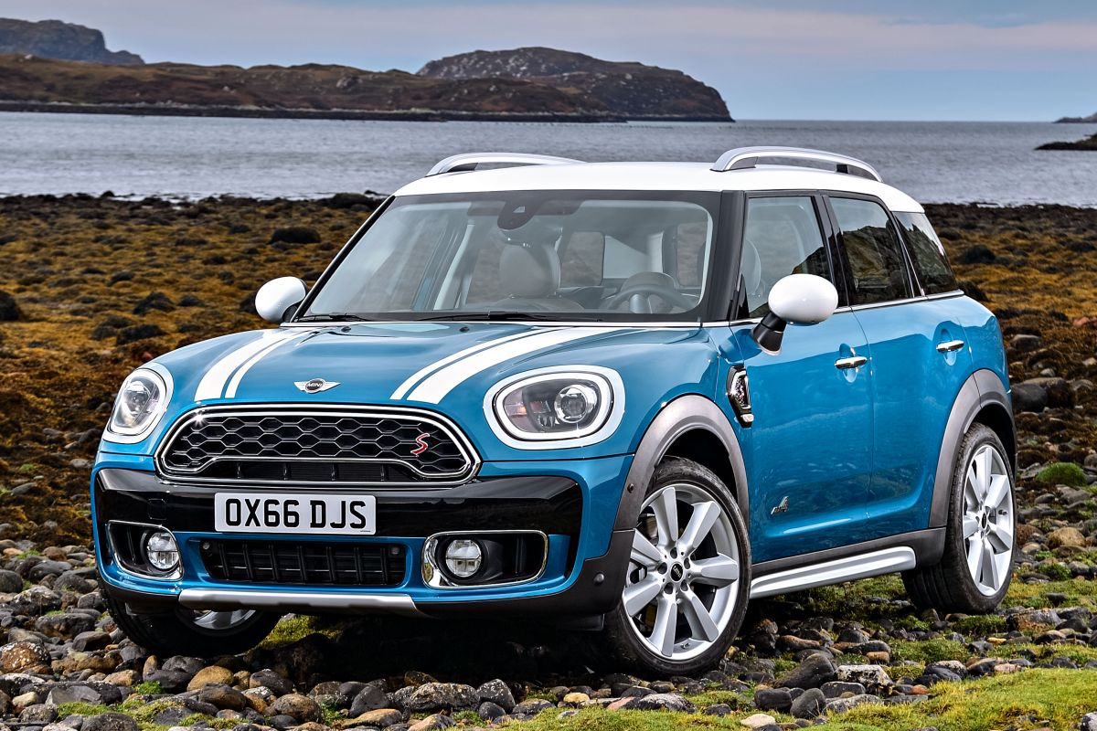 Mini Countryman 2017 matmenys