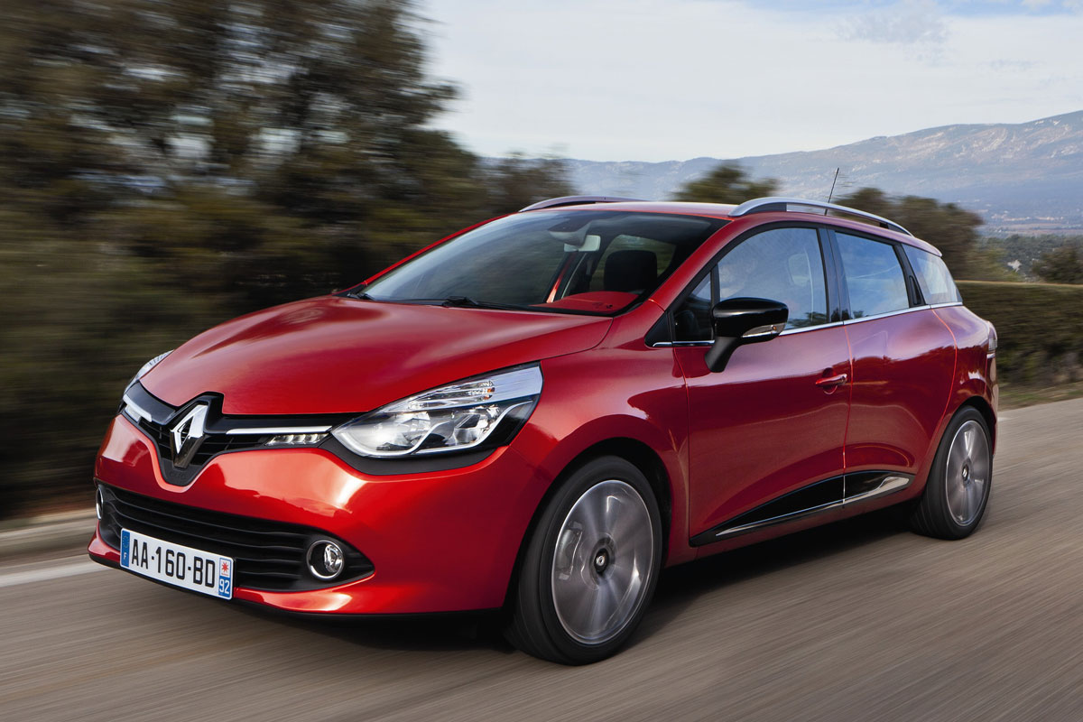 Renault Clio Estate 2013 matmenys