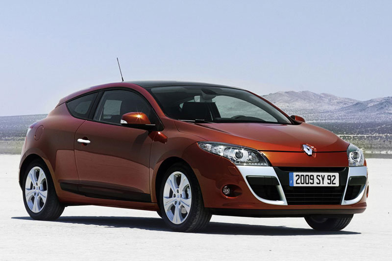 Renault Megane Coupe nuotrauka