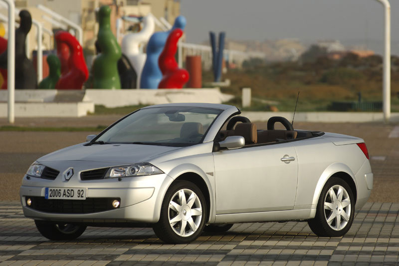 Renault Megane Coupe-Cabriolet 2006 matmenys