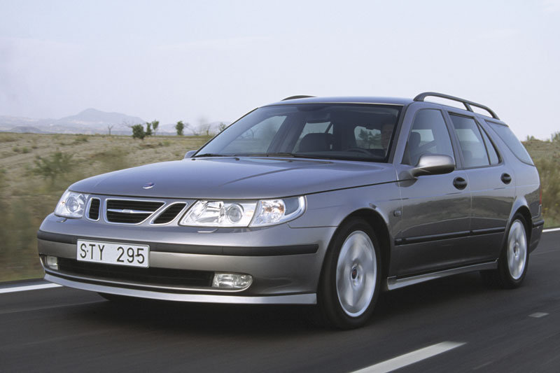 Saab 9-5 Estate 2001 matmenys