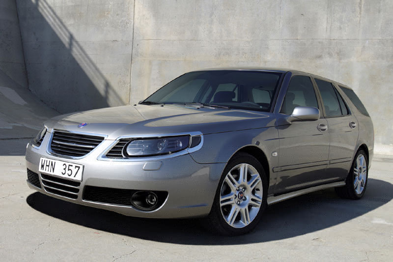 Saab 9-5 Sport Estate 2005 matmenys