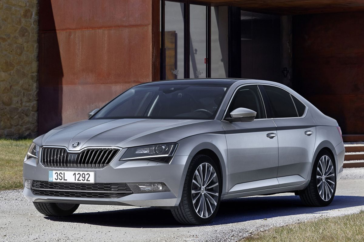 Skoda Superb 2015 matmenys