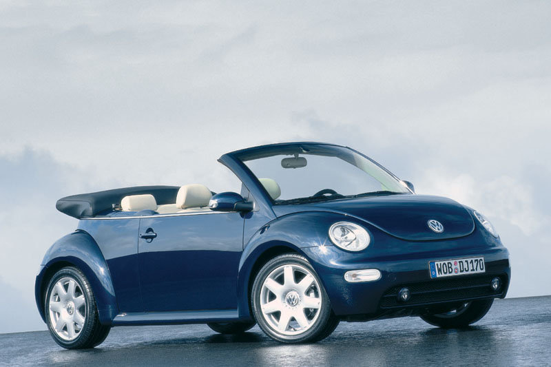 Volkswagen New Beetle Cabrio 2003 matmenys