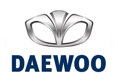 Daewoo sąnaudos pagal modelį