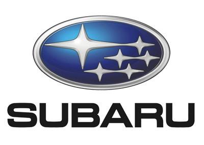 Subaru sąnaudos pagal modelį