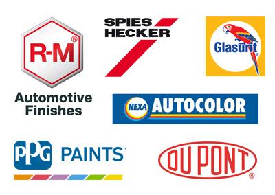 Dažu spalvos kodai pagal automobilio markę ir modelį